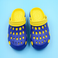 夏季新款 男士洞洞鞋沙滩时尚EVA透气半拖鞋鸟巢凉拖潮鞋子新