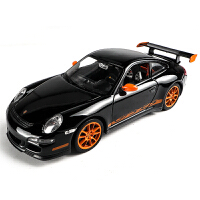 仿真合金车模车载模型汽车 1:24保时捷911 GT3 RS超跑模型