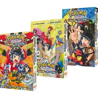 Pokemon Adventures Sun & Moon 精灵宝可梦特别篇太阳・月亮 3册套装 小学馆英文漫画书 奇幻