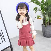女童秋装裙子套装女宝宝小女孩衣服潮洋气