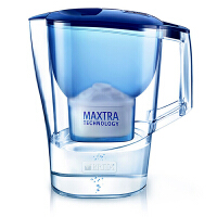 碧然德(BRITA)过滤净水器 家用滤水壶 净水壶 Aluna 摩登系列 3.5L(蓝色)阻垢款一壶一芯