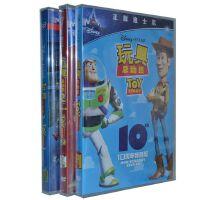 原装正版 迪士尼动画片 玩具总动员1-3dvd合集 D9含花絮 光盘