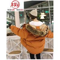 2018新款情侣装棉衣短款韩版羽绒男女宽松学生面包服冬季外套