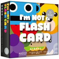 我不是单词卡I'm NOT a Flash Card 宝宝玩英语入门 带视频自学3-6岁零基础英文有声教材儿童ABC双语少儿游戏英语卡片幼儿学习启蒙