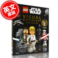 现货 英文原版 DK儿童系列 乐高星球大战图解新版 精装 LEGO Star Wars Visual Dictiona