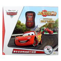 迪士尼 3D动力拼图 赛车总动员 六合一套装组合(儿童立体拼图 男孩玩具回力汽车)HWMP-2202