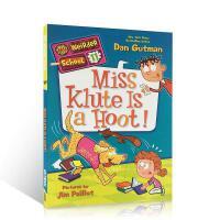 【全店300减100】英文原版 My Weirder School #11: Miss Klute Is a Hoot!