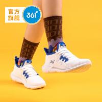 【下单立减到手价:103.6】361度童鞋 男童女童跑鞋 中大童 2020年春季新品网面跑鞋运动鞋N71933504