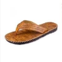 人字拖男拖鞋男士潮男厚底凉拖鞋室外海边沙滩旅行平跟个性女托鞋