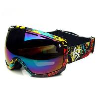 滑雪镜 滑雪眼镜 大视野 雪地护目镜 双层防雾可卡近视