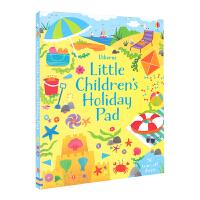 Usborne Little Children's Holiday Pad 幼儿假日活动游戏手册 儿童英语早教启蒙游戏