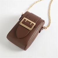 手机包女包迷你单肩斜挎包零钱包小香风菱格链条小包包