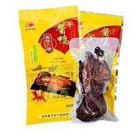 【江苏高邮馆】星月菱塘牌 酱鸭农家卤味熟小吃卤鸭酱烤鸭 800克/袋
