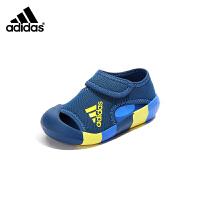 【到手价:329元】阿迪达斯Adidas童鞋2019夏季新款女童凉鞋儿童休闲鞋中大童沙滩鞋(5-10岁可选)D9719