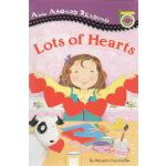 LOTS OF HEARTS 汪培�E1一阶段 All Aboard Reading 英文原版绘本 儿童图画故事书