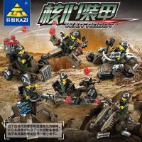 开智 7701核心装甲6款系列儿童男孩塑拼插积木玩具节日礼