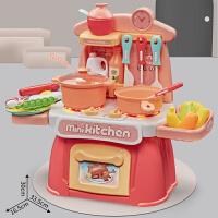 【创意厨房 26配件】婴幼儿童声光厨房仿真厨具女孩过家家做饭炒菜玩具套装