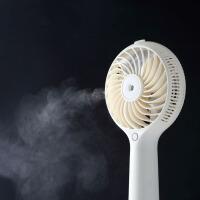 空调迷你风扇喷雾制冷床上学生宿舍USB可充电随身便携式小电风扇