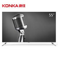 康佳(KONKA)B55U 55英寸4K超高清31核金属边框HDR智能液晶平板电视