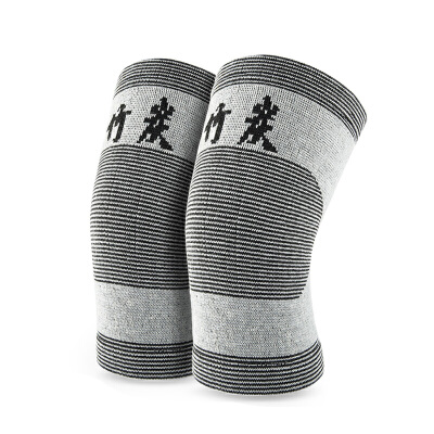 FANGCAN方灿 2只装针织运动护膝男女成人护膝膝盖半月板保护带 透气针织运动护膝