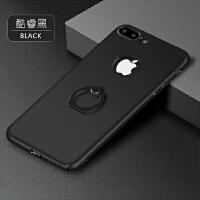 BaaN iphone7手机壳苹果7全包指环支架手机保护套 酷黑色
