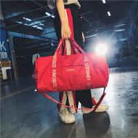 短途旅行包行李包女手提大容量轻便健身包男单肩斜挎运动包训练包 中