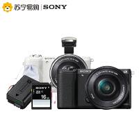 【苏宁易购】Sony/索尼微单ILCE-A5100L 高清相机套机 相机 赠559元礼包
