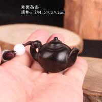 木手把件木雕乌龟大象葫芦富甲天下龟壳把玩件貔貅男文玩