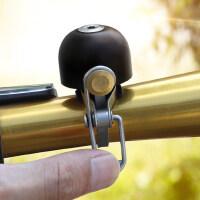 山地自行车铃铛复古铜铃铛折叠车大声喇叭骑行配件响铃