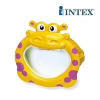 INTEX趣味动物面具55910 儿童游泳镜 戏水面罩 潜水眼镜 3-10岁
