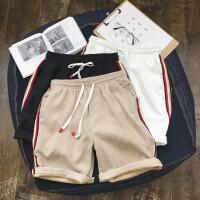 学生5分裤子男士休闲短裤夏款薄款宽松沙滩裤新款潮五流分裤