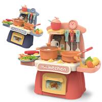 儿童过家家小厨房玩具套装宝宝女孩男孩女童小孩仿真厨具做饭煮饭