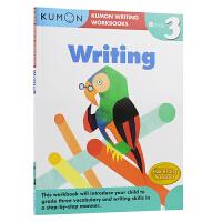 【首页抢券300-100】Kumon Writing Workbooks Writing Grade 3 公文式教育 小