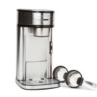 【当当自营】 汉美驰(HamiltonBeach)单杯美式 精英式咖啡机 49981-CN(银色)