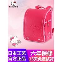 Hellokitty凯蒂猫日本小学生书包日式减负女生儿童背包1-6年级