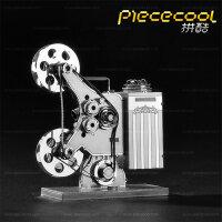 3D金属拼装立体拼图拼装模型玩具 创意DIY玩具家居摆件 放映机