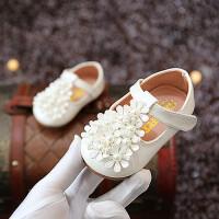 童鞋女童鞋春秋款婴儿鞋小皮鞋公主鞋软底学步鞋