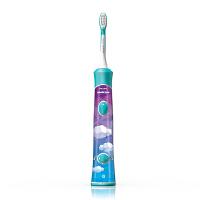 美国直邮 Philips飞利浦 声波智能儿童电动牙刷 HX6321/02 海外购