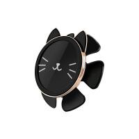 创意猫方向盘重力陀螺仪支架多功能车载导航吸盘手机支架