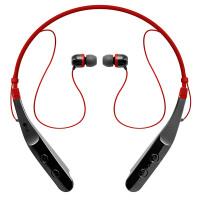 LG HBS-510无线音乐耳机 颈戴式运动耳机 耳塞式立体声跑步通用型 黑红