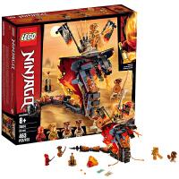 6月新品LEGO乐高幻影忍者系列70674烈焰威龙小颗粒积木8岁+玩具