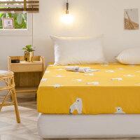 多喜爱床笠单件全棉床套床垫套席梦思防滑固定床罩防尘罩保护套