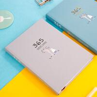 365计划本日程本笔记本子 记事本文具用品 创意 韩国 小清新 简约手账本大学生日记本可爱彩页便携手帐本定制