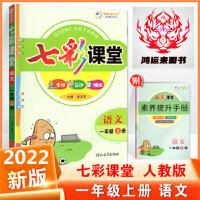 2020版 七彩课堂一年级上册语文 1年级上册 人教版 朱五书编著 河北教育出版社