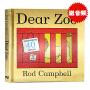 【满300-100】Dear Zoo进口英文原版绘本纸板书亲爱的动物园儿童英语启蒙书籍 0-4岁立体机关翻翻书吴敏兰书单绘本 可搭brown bear