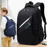 高中学生书包男初中生大容量时尚潮流双肩包大学生电脑背包