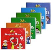 Get Set Go Sing And Move Audio CD 1-6 牛津幼儿英语歌曲音频CD 1-6 英文原版书
