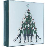 韩文版 EXO-K 12月的奇迹/十二月的奇迹 CD 写真 签名卡 水晶球卡