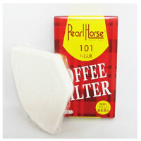 美式咖啡机专用咖啡滤纸 101宝马过滤纸 1-2人份 40张入