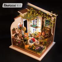 若态3D立体拼图拼装模型手工DIY小屋创意生日礼物米勒的阳光花园